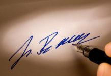 Czy podpis urzędnika może być uznany za daną biometryczną?